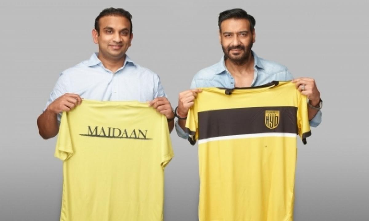 Ajay Devgn-starrer 'maidaan', Hyderabad Fc In Tie-up To Nurture Football Talent-TeluguStop.com