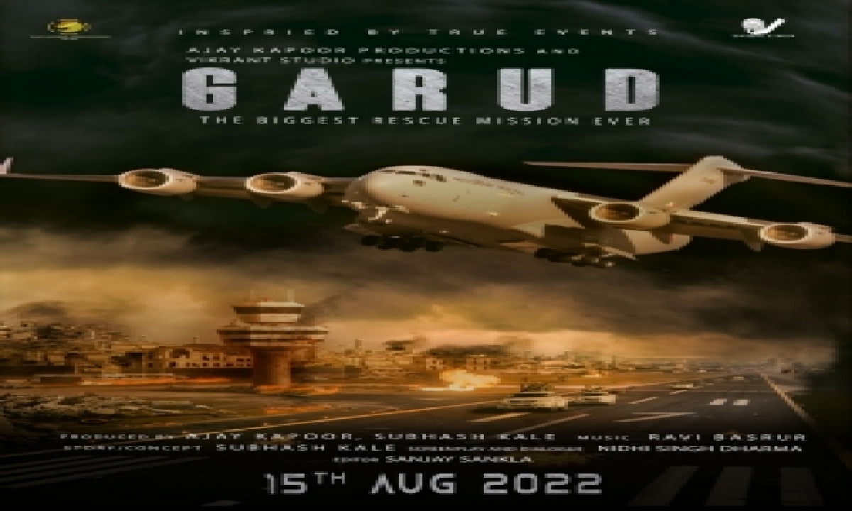 Ajay Kapoor, Subhash Kale Announce 'garud' Based On Afghan Rescue Crisis-TeluguStop.com