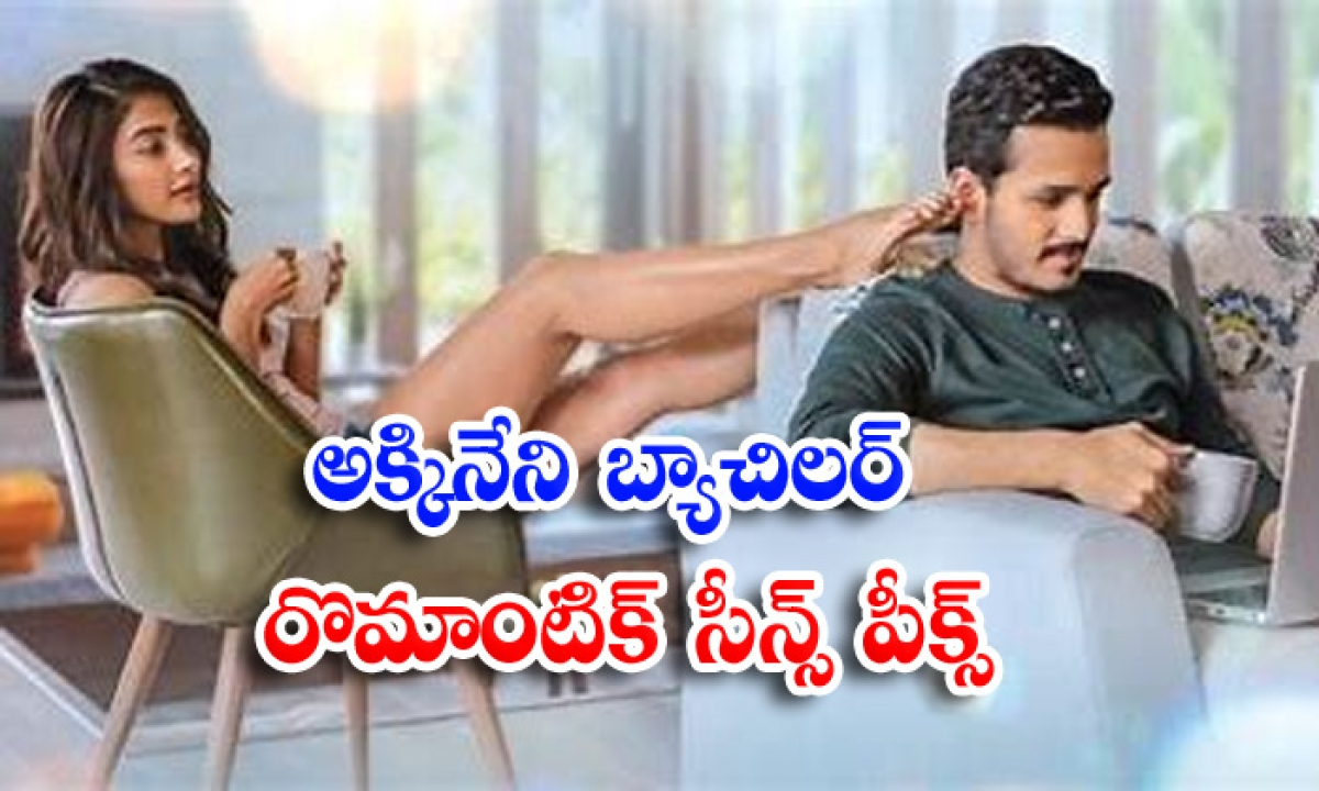 Akhil And Pooja Hegde Romance In Most Eligible Bachelor Movie Super-అక్కినేని బ్యాచిలర్' రొమాంటిక్ సీన్స్ పీక్స్-Latest News - Telugu-Telugu Tollywood Photo Image-TeluguStop.com
