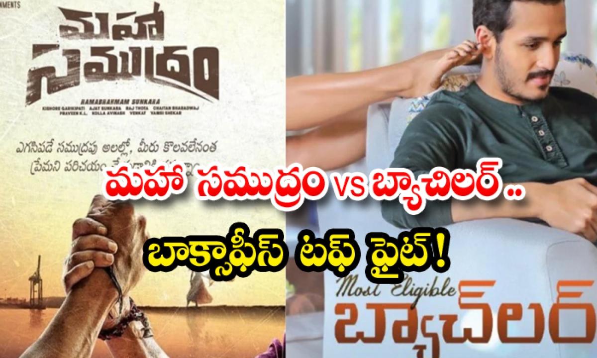 Maha Samudram Vs Bachelor Movie Dasara Boxoffice Fight-మహా సముద్రం Vs బ్యాచిలర్.. బాక్సాఫీస్ టఫ్ ఫైట్..-Latest News - Telugu-Telugu Tollywood Photo Image-TeluguStop.com