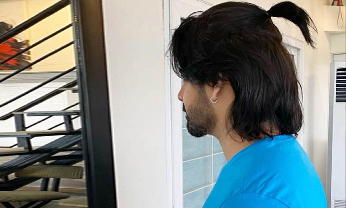Akkineni Sushanth New Hairstyle Look Instagram-TeluguStop.com