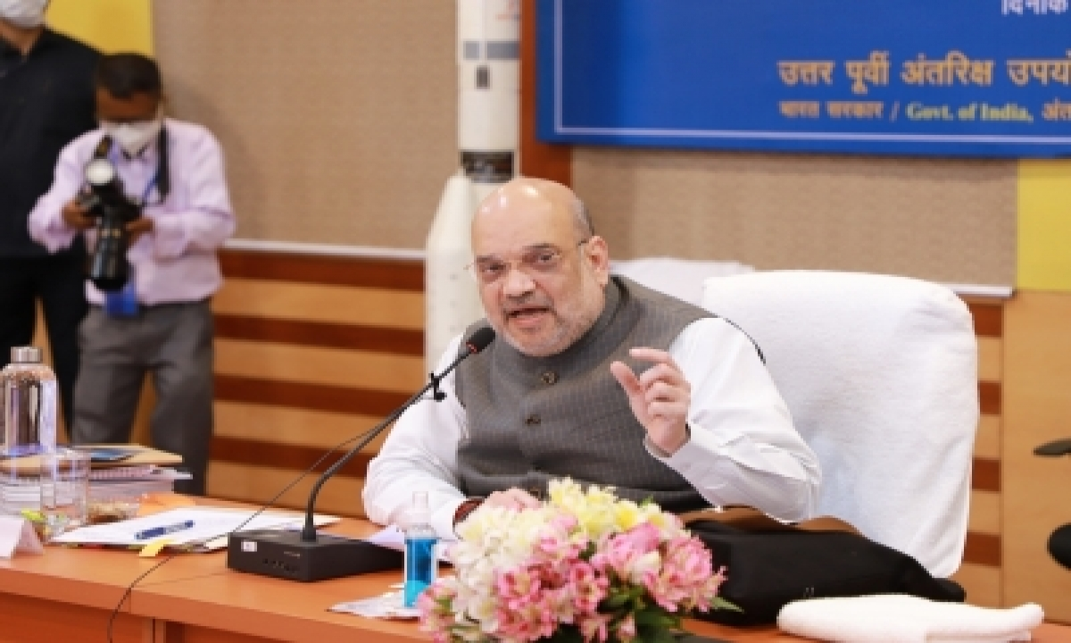 All NE State Capitals To Be Linked By Air, Rail By 2023-24: Amit Shah-General-English-Telugu Tollywood Photo Image-TeluguStop.com