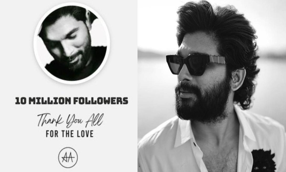Allu Arjun Hits 10 Million Followers On Instagram.-General-English-Telugu Tollywood Photo Image-TeluguStop.com