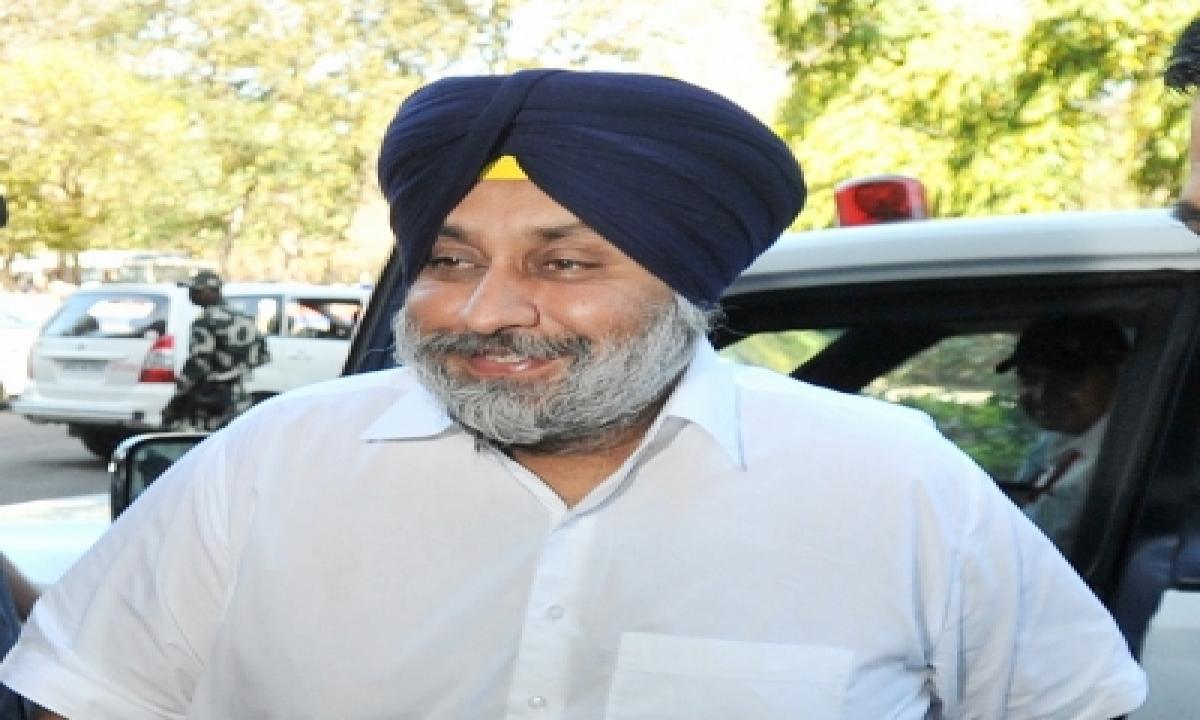 Amarinder's Resignation Self-admission Of Party's Failures: Sukhbir-Latest News English-Telugu Tollywood Photo Image-TeluguStop.com