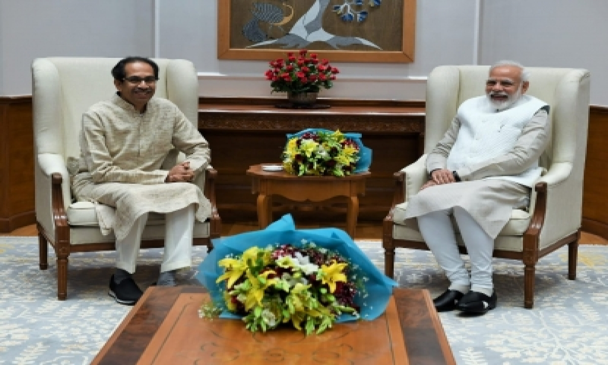 Amidst Shiv Sena's Onslaught Pm Lauds Maha Cm's Covid Efforts (ld)-TeluguStop.com