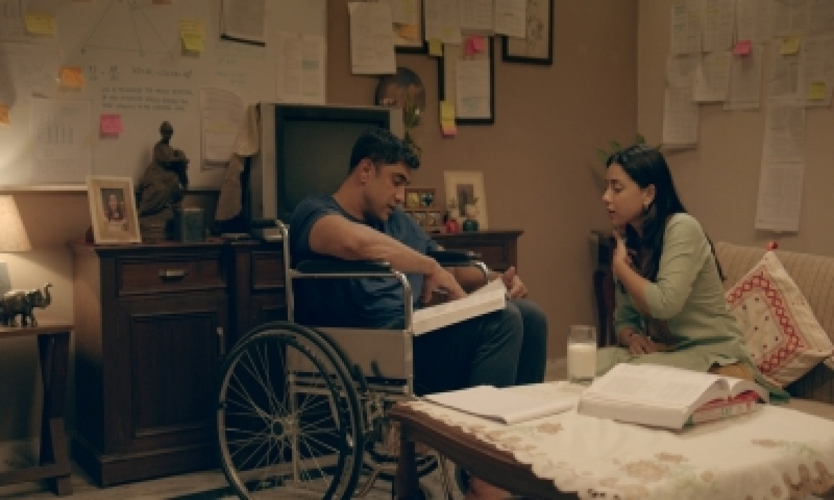 TeluguStop.com - Amit Sadh: Sitting On A Wheelchair No Less A Challenge
