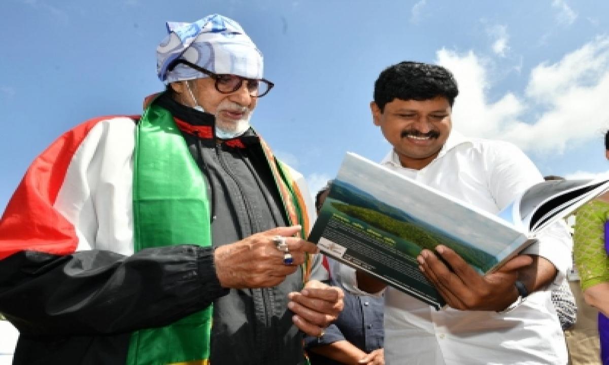 Amitabh Bachchan Takes Part In Green India Challenge-Cinema/ShowBiz News-Telugu Tollywood Photo Image-TeluguStop.com