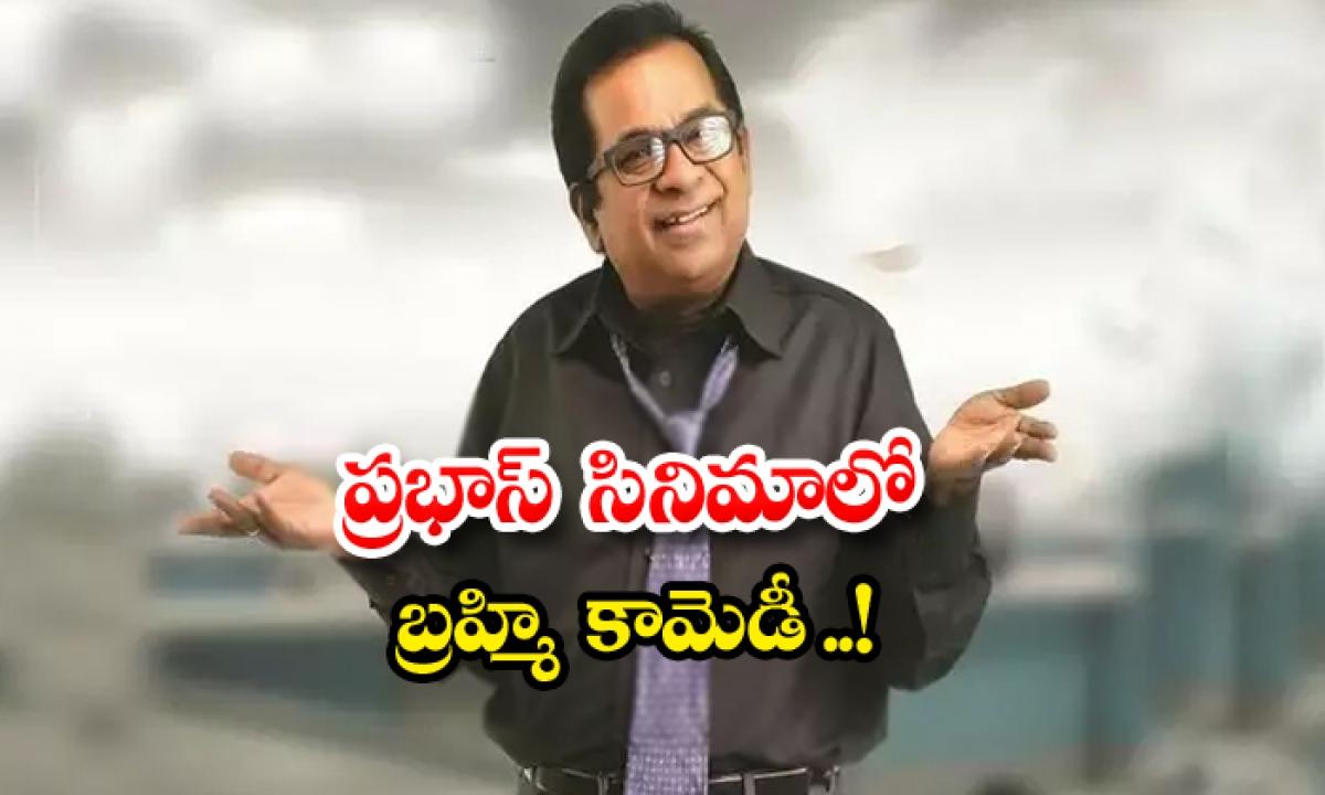 Prabhas Project K Brahmanandam Comedy Update-ప్రభాస్ సినిమాలో బ్రహ్మి కామెడీ..-Latest News - Telugu-Telugu Tollywood Photo Image-TeluguStop.com