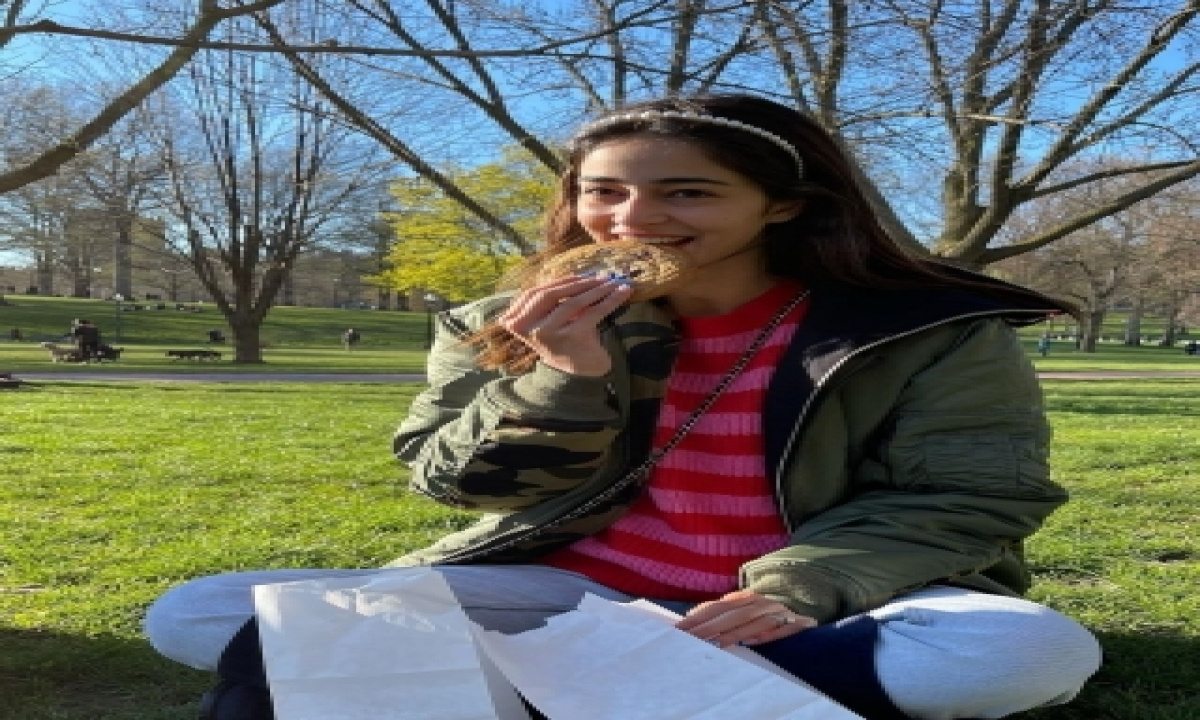 Ananya Panday Reveals What Makes Her 'smile 101'-TeluguStop.com