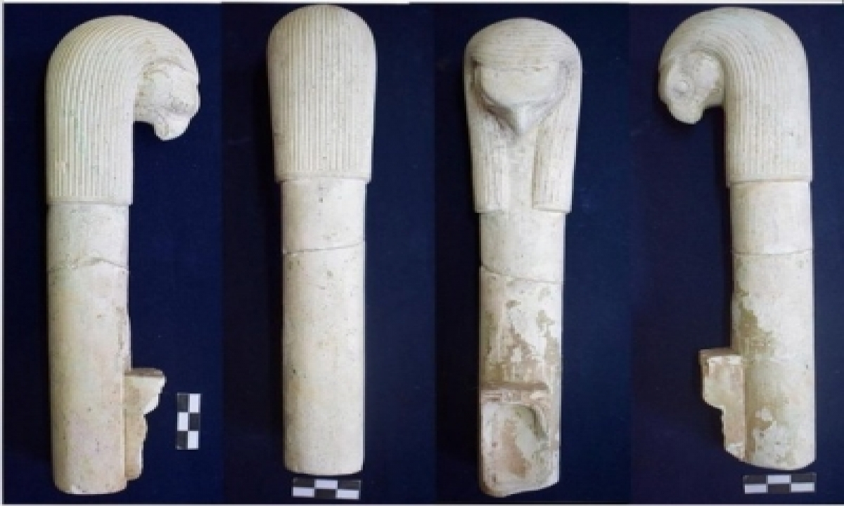 Ancient Ritual Tools Unearthed In Pharaonic Site In Egypt-TeluguStop.com