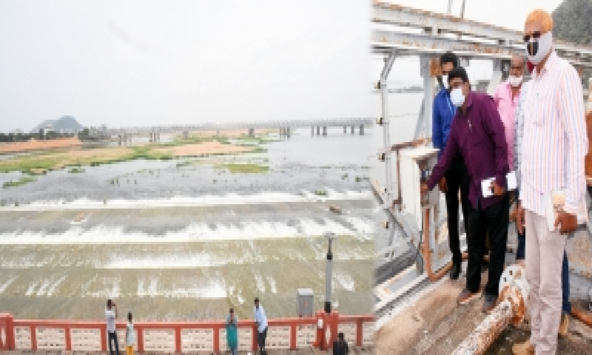Andhra Asks Centre To Prevail Upon Telangana On Krishna Waters-TeluguStop.com