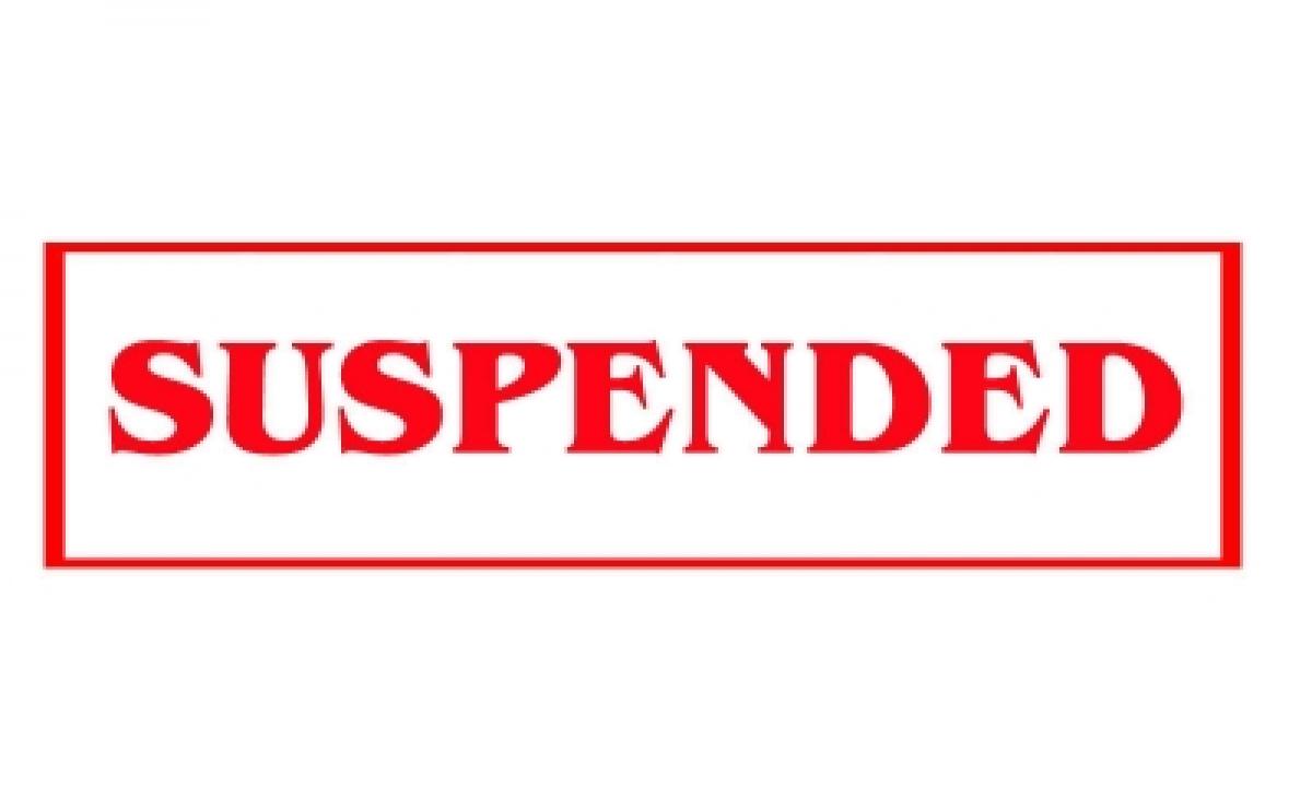 Andhra Govt Suspends Finance Dept Official For Leaking Sensitive Info-TeluguStop.com
