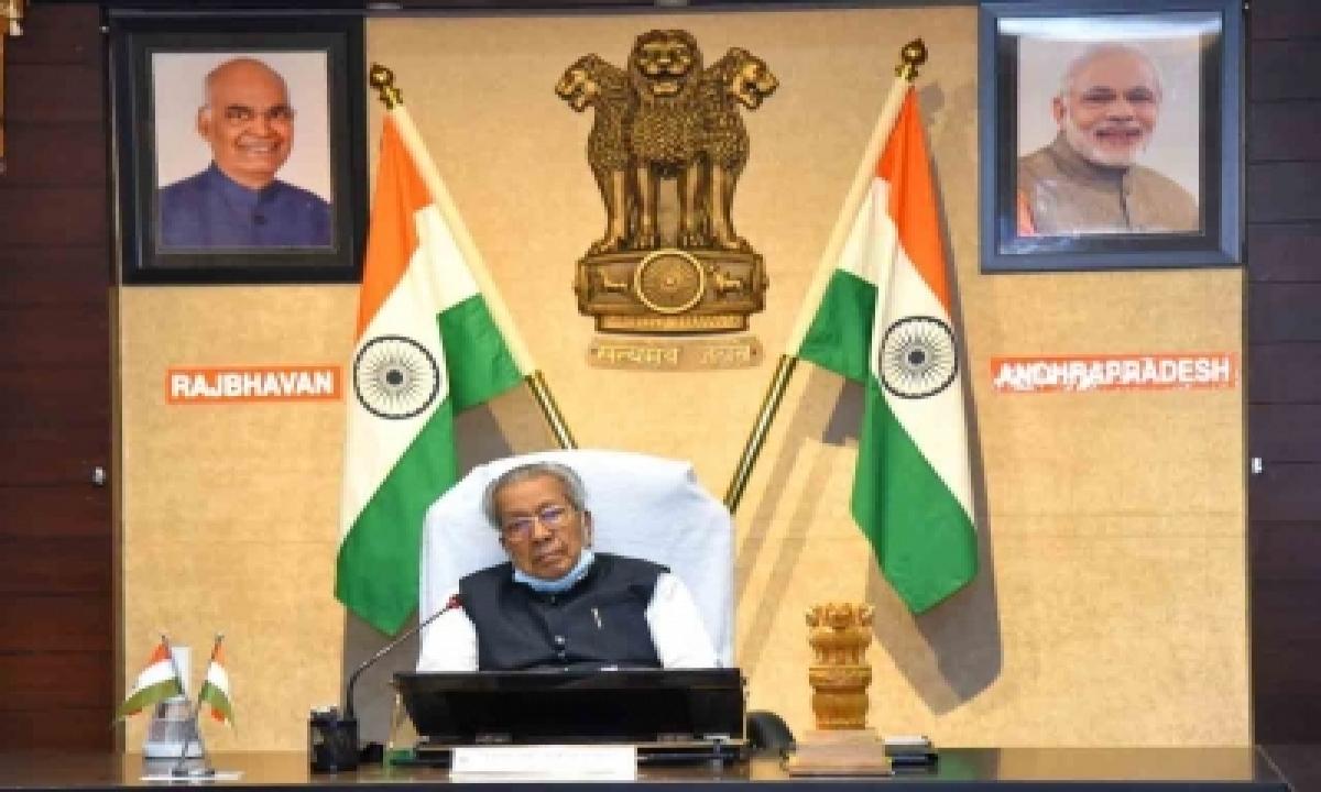 Andhra Guv, Cm Congratulate Mirabai For Winning Silver Medal-TeluguStop.com