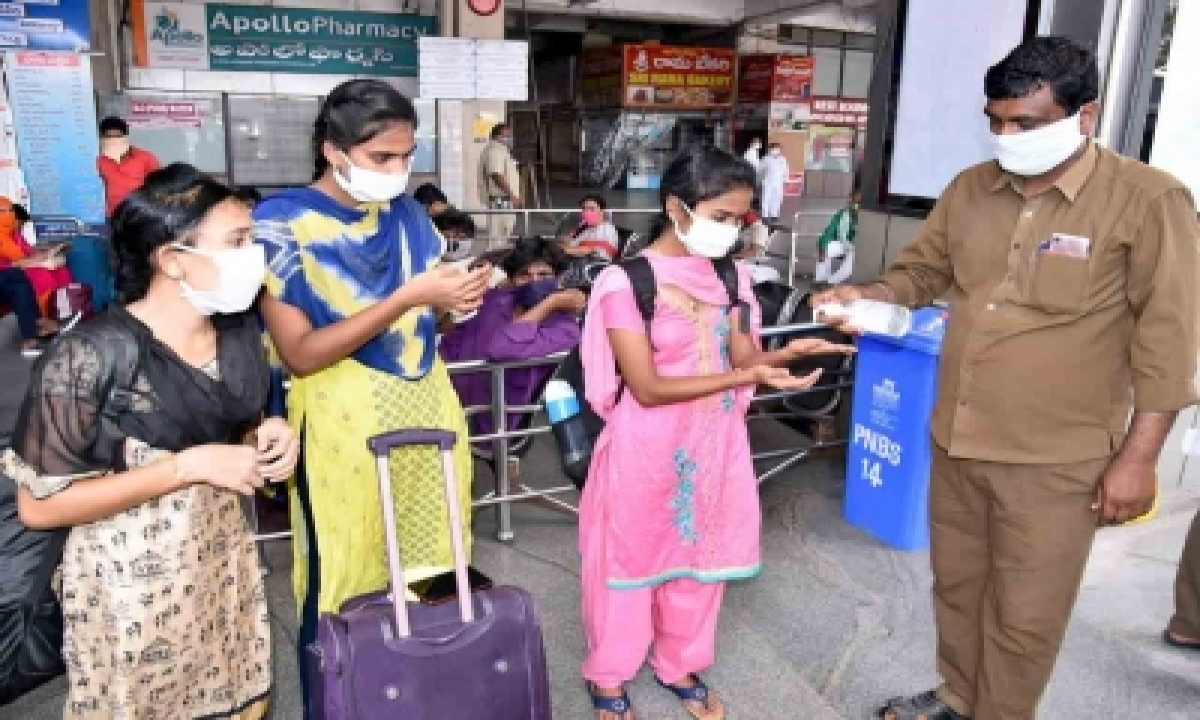 Andhra Logs 4k More Covid Cases, Active Cases Cross 28k Mark-TeluguStop.com