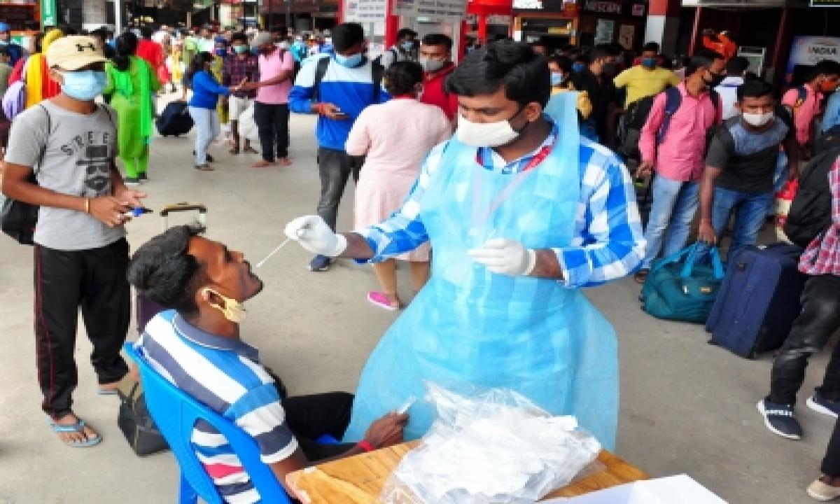 Andhra Pradesh Records 2k More Covid Cases, 22 Deaths-TeluguStop.com