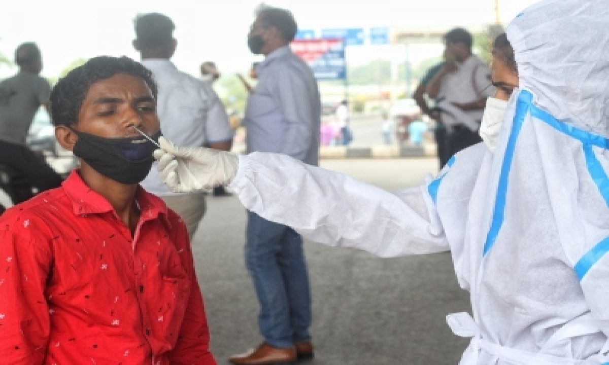 Andhra Records 1,627 More Covid Cases, 17 Fresh Deaths-TeluguStop.com