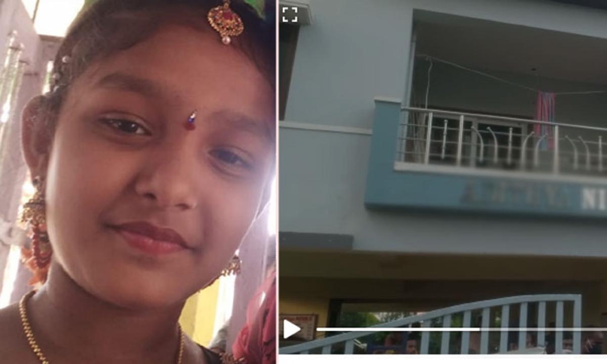 Visakha Gajuwaka Suspicious Death Of Aditya Apartment Watchmens Daughter In Shaniwada-విశాఖ గాజువాక…శనివాడ లో ఆదిత్య అపార్ట్మెంట్ వాచ్మెన్ కుమార్తె అనుమానాస్పద మృతి…-Latest News - Telugu-Telugu Tollywood Photo Image-TeluguStop.com