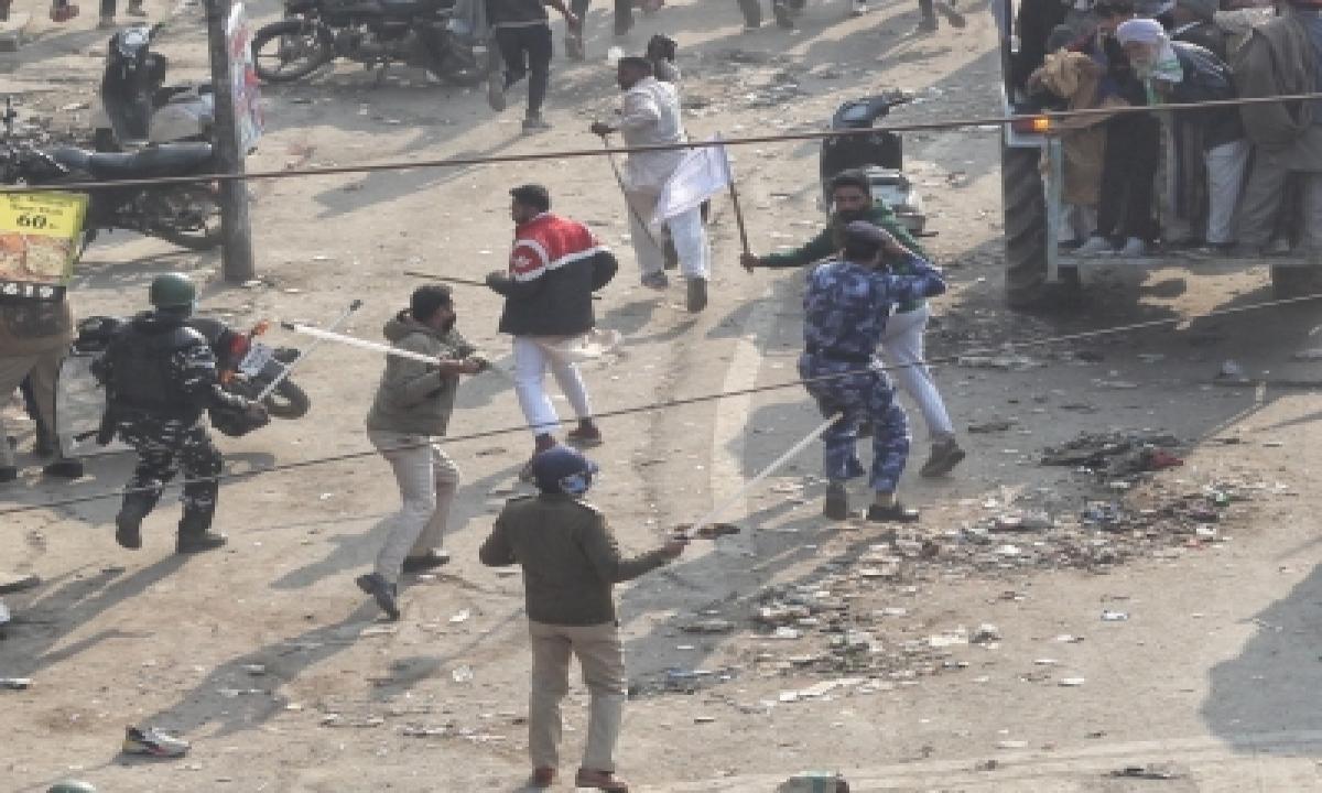 Anti-social Elements Like Deep Sidhu Damaged Farmers' Stir: Skm-TeluguStop.com