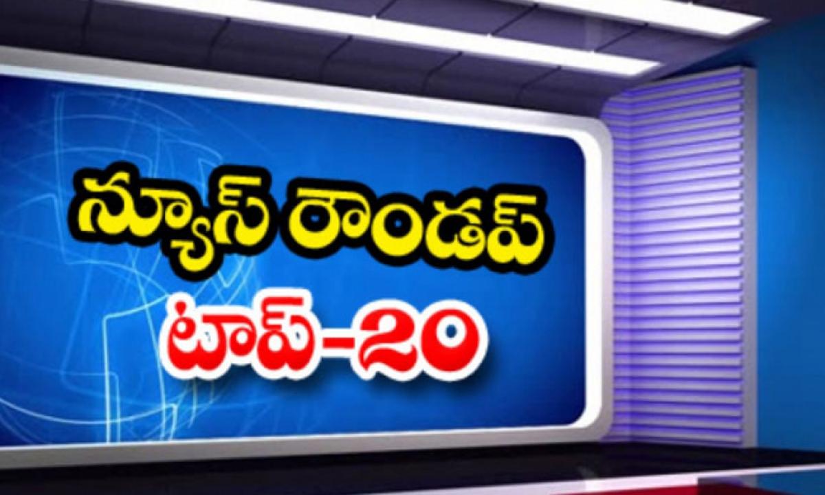 Ap Andhra And Telangana News Roundup Breaking Headlines Latest Top News May 07 2021-న్యూస్ రౌండప్ టాప్ 20-Breaking/Featured News Slide-Telugu Tollywood Photo Image-TeluguStop.com