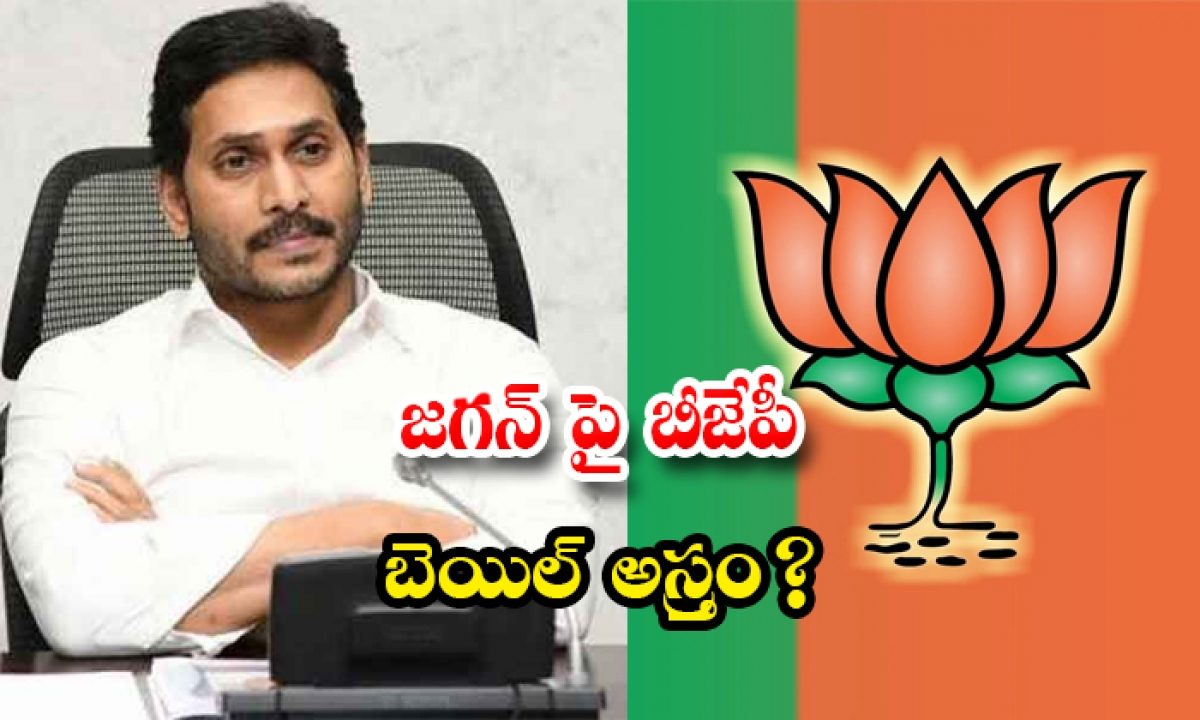 Bjp Target On Jagan About Jagan Bail Issue-TeluguStop.com
