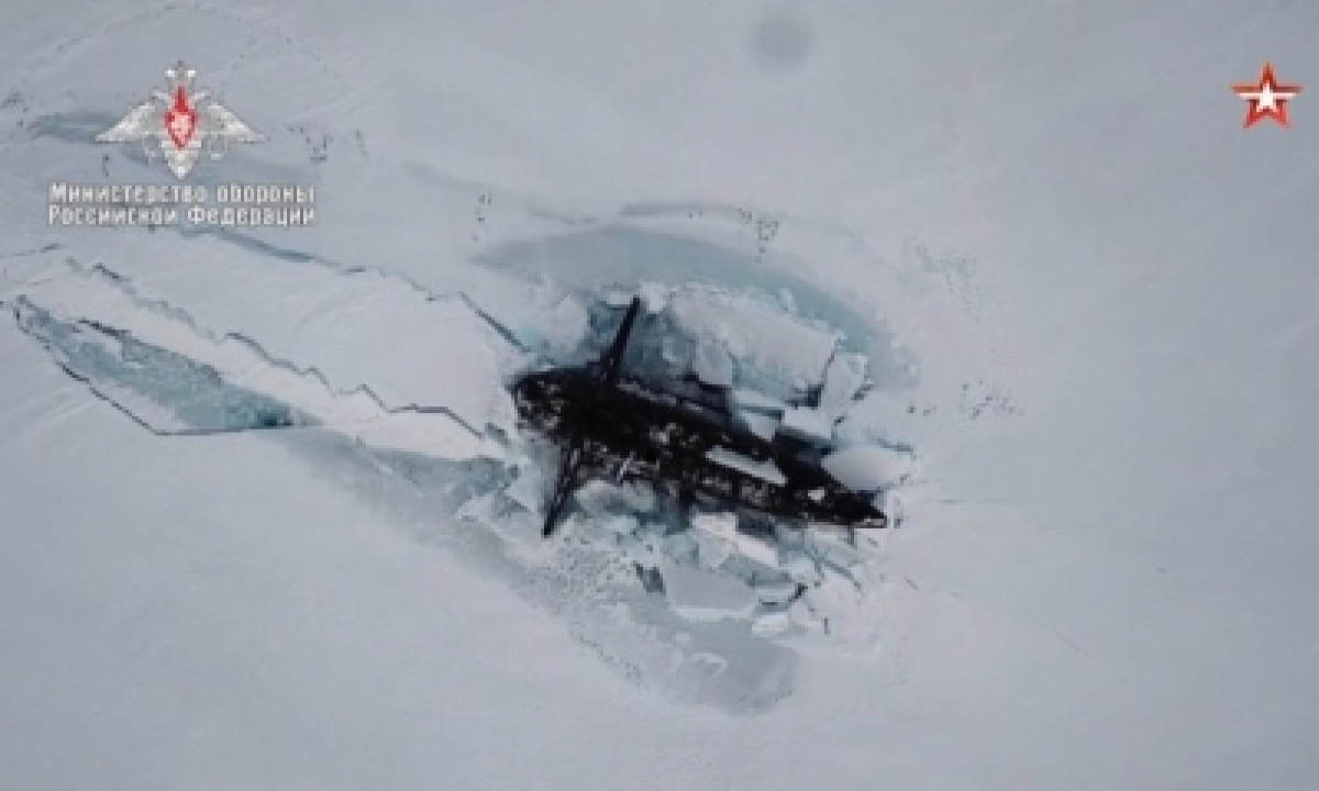 Arctic Militarily Important For Russia: Kremlin-TeluguStop.com
