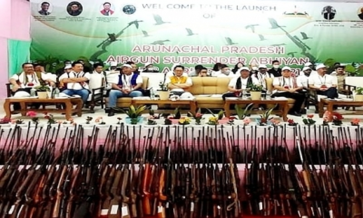 Arunachal's Air Gun Surrender Campaign May Inspire Other States-Latest News English-Telugu Tollywood Photo Image-TeluguStop.com