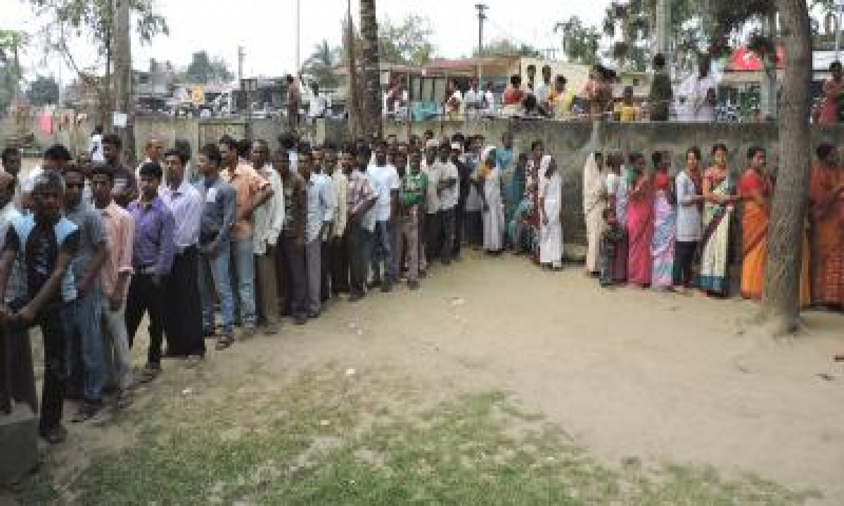 Assam Records Over 82% Turnout Across Three-phase Poll-TeluguStop.com
