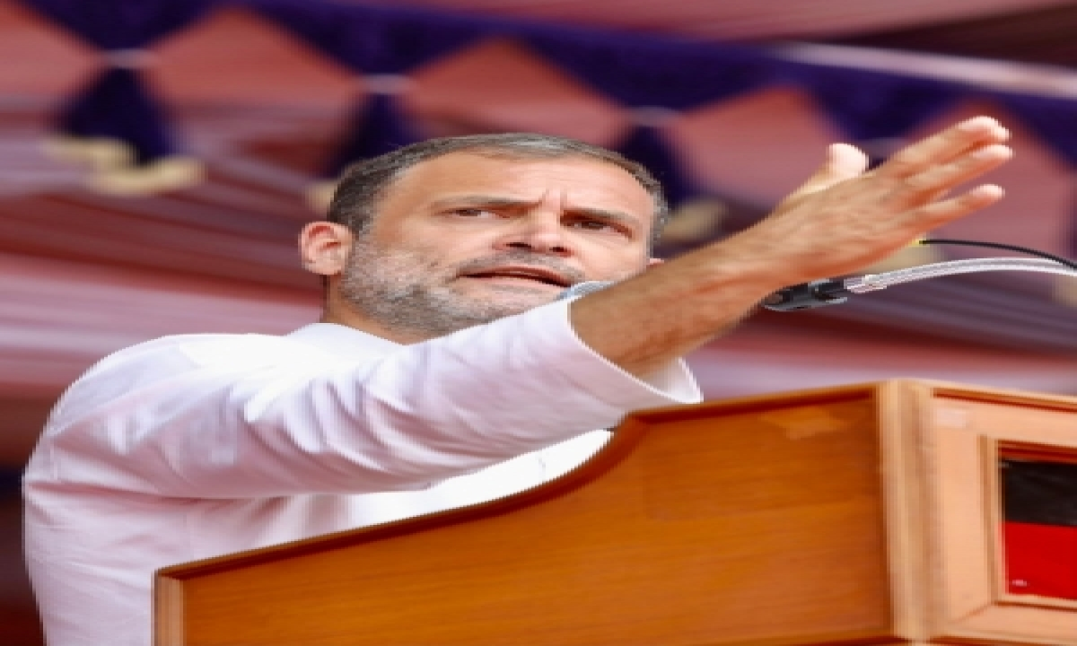 Assembly Poll Results Crucial For Rahul Who Led Cong Campaign-TeluguStop.com
