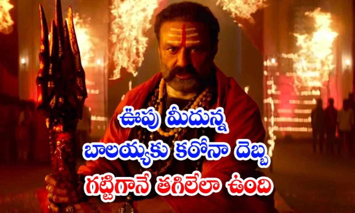 Balakrishan Akhanda Movie Pre Release Business Effect Duo To Corona-ఊపు మీదున్న బాలయ్యకు కరోనా దెబ్బ గట్టిగానే తగిలేలా ఉంది-Latest News - Telugu-Telugu Tollywood Photo Image-TeluguStop.com
