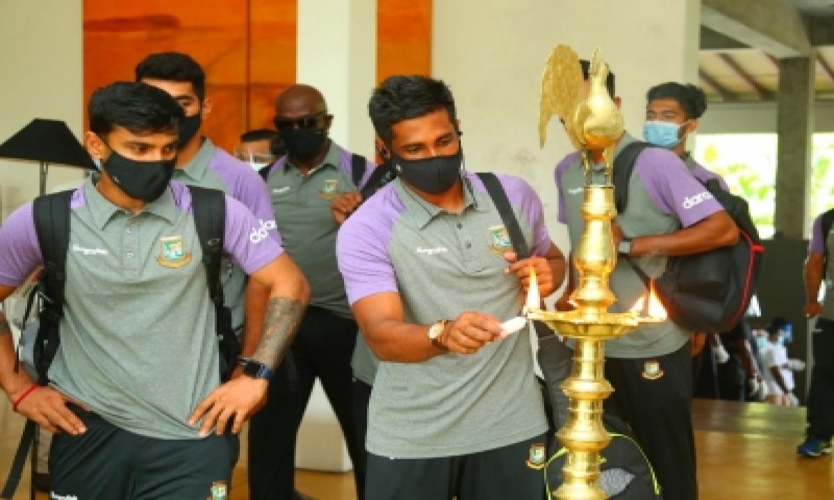 Bangladesh Arrive In Sri Lanka For Test Series-TeluguStop.com