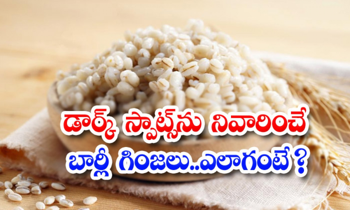 Barley Seeds Can Reduce Dark Spots Naturally-డార్క్ స్పాట్స్ను నివారించే బార్లీ గింజలు..ఎలాగంటే-Latest News - Telugu-Telugu Tollywood Photo Image-TeluguStop.com