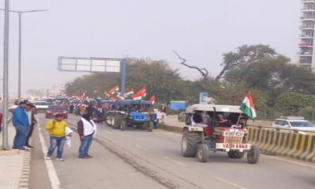 Barricades To Open On Jan 26 As Police Allow Tractor Rally-TeluguStop.com