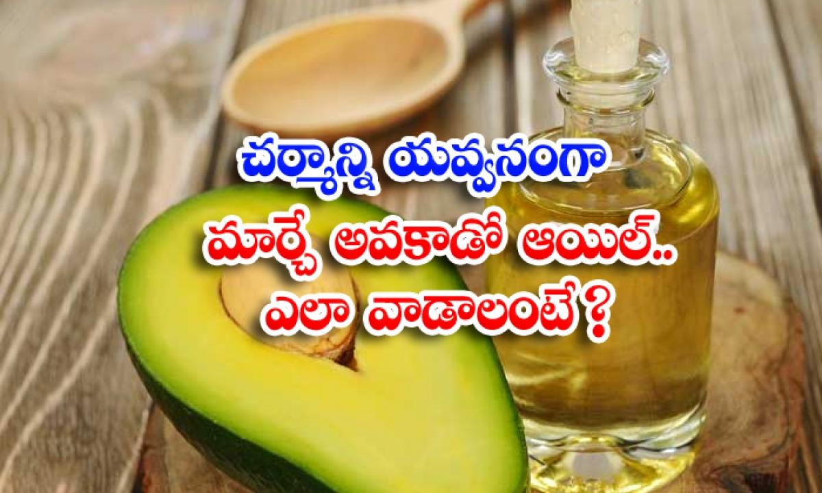 Benefits Of Avocado Oil Avocado Oil For Skin Skin Care-TeluguStop.com