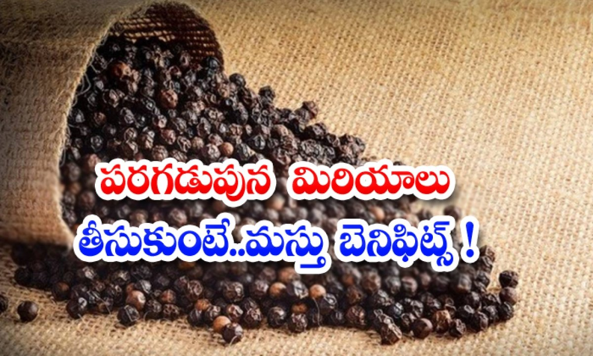 Benefits Of Taking Black Pepper In Early Morning-TeluguStop.com