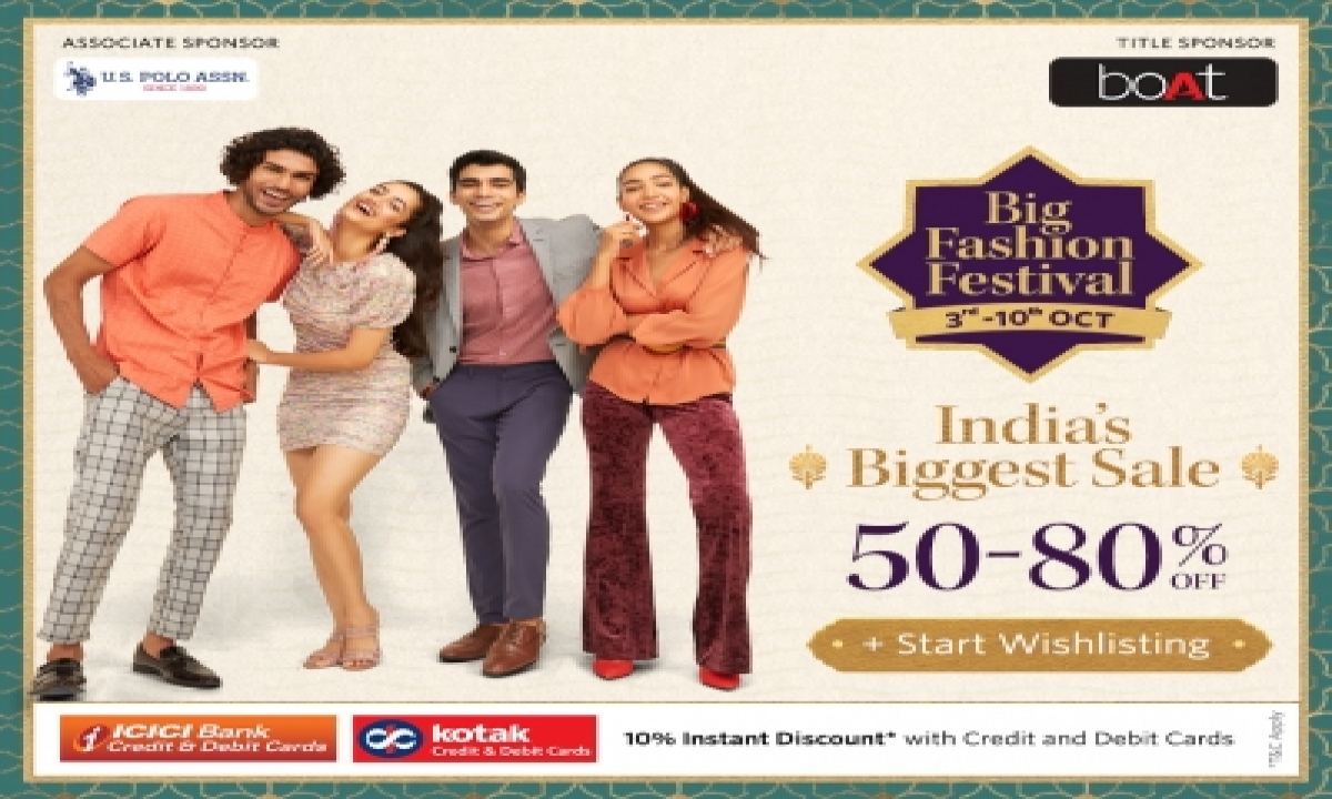 Biggest Edition Of Myntra's Big Fashion Festival From October 3-10-Business-Telugu Tollywood Photo Image-TeluguStop.com