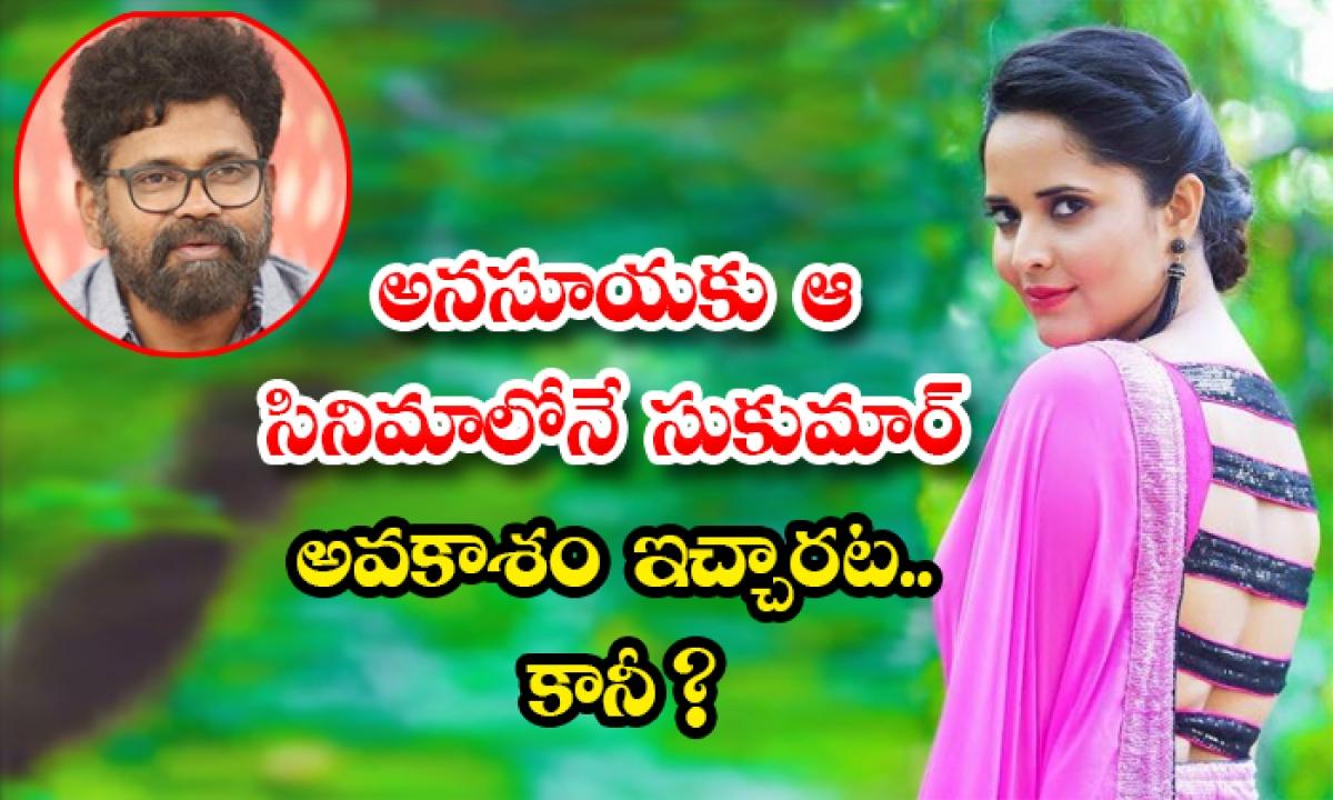 Birthday Special Story On Actress Anasuya-TeluguStop.com