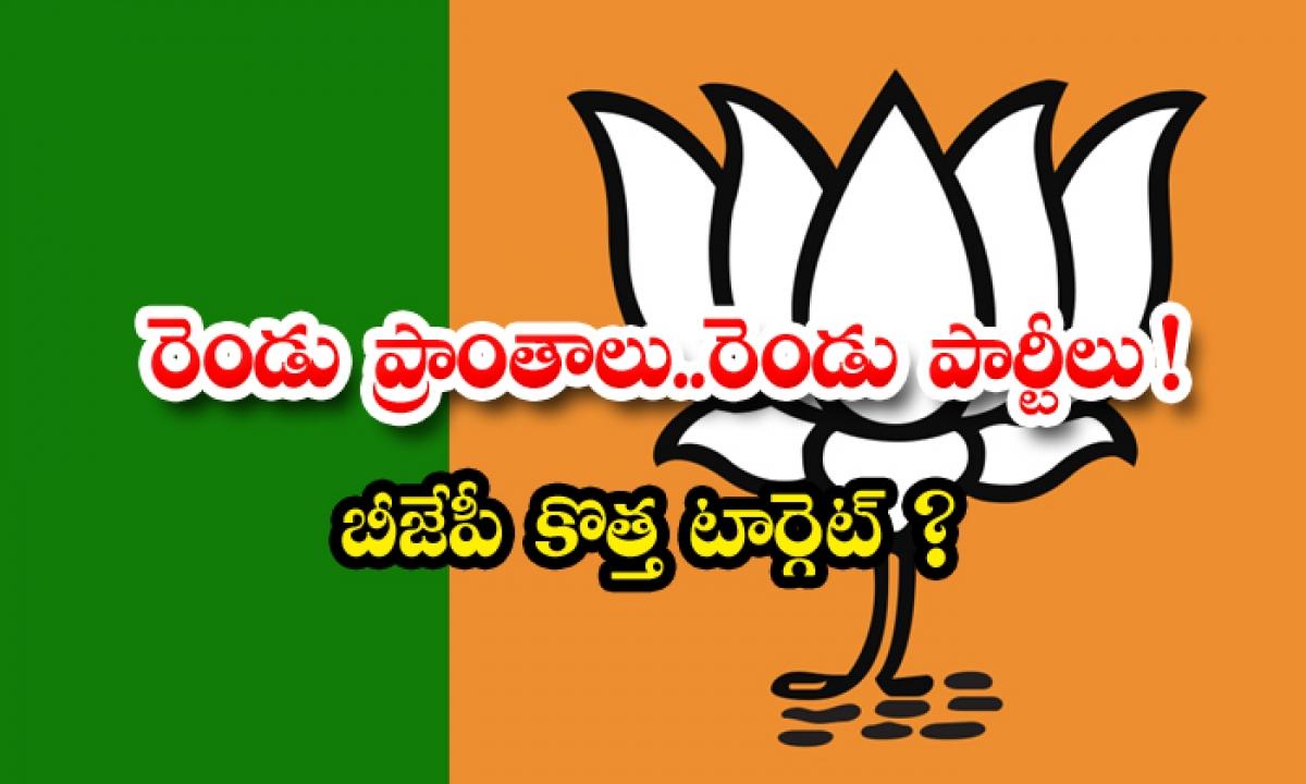Bjp State Ki Decision About Ap Telangana Party Issue-రెండు ప్రాంతాలు… రెండు పార్టీలు  బీజేపీ కొత్త టార్గెట్ -Political-Telugu Tollywood Photo Image-TeluguStop.com