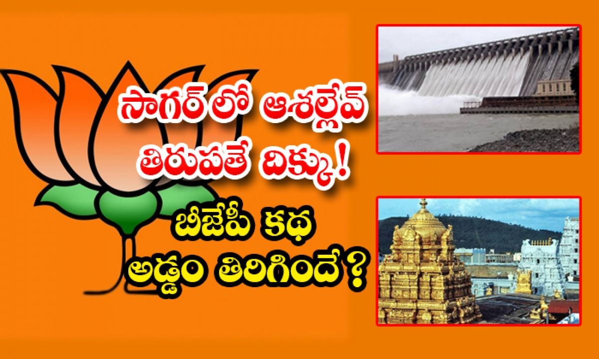 Bjp Full Focus On Tirupathi Elections-TeluguStop.com