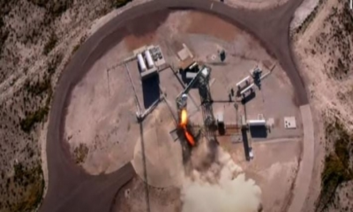 Blue Origin's Space Flight With William Shatner Lifts Off To Space – ScienceTechnology,Technology-Latest News English-Telugu Tollywood Photo Image-TeluguStop.com