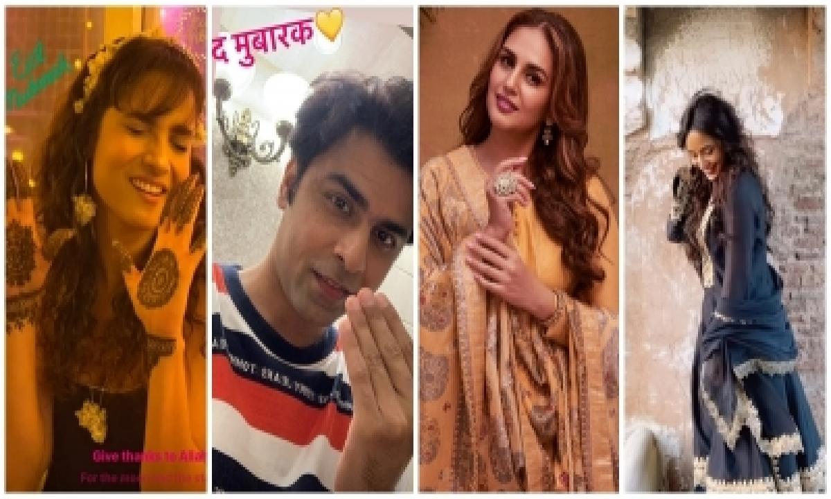 Bollywood And Tollywood Wish Fans Eid Al-adha On Social Media-TeluguStop.com