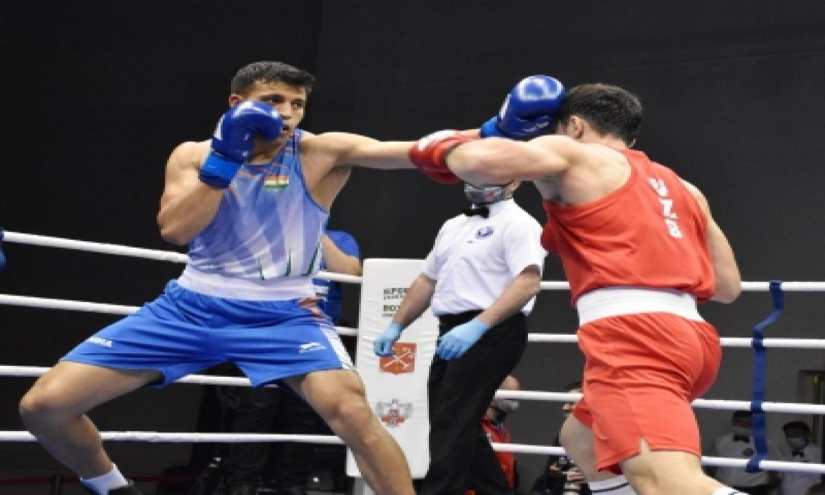Boxing Nationals: Haryana's Sumit, Delhi's Neeraj Among Others Make Winning Start-TeluguStop.com