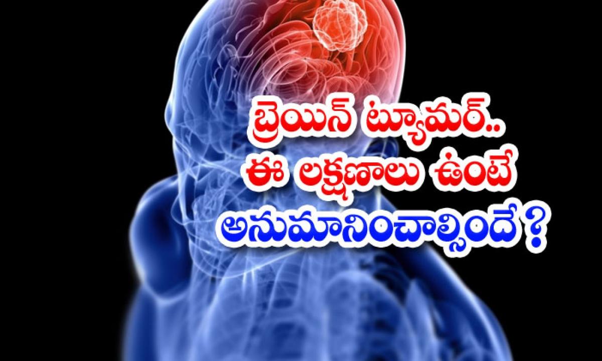 Symptoms Of Brain Tumor-బ్రెయిన్ ట్యూమర్..ఈ లక్షణాలు ఉంటె అనుమానించాల్సిందే-Latest News - Telugu-Telugu Tollywood Photo Image-TeluguStop.com