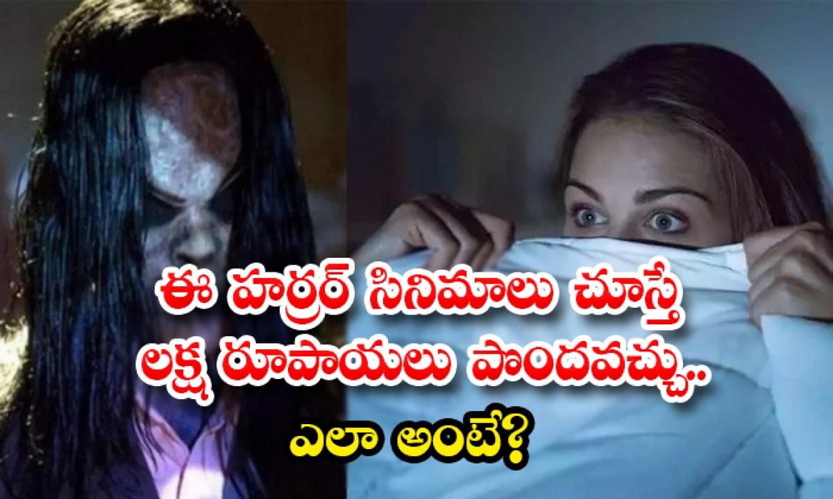 Bumper Offer If You Watch These Horror Movies You Will Get A Reward Of 1 Lakh Rupees-ఈ హర్రర్ సినిమాలు చూస్తే లక్ష రూపాయలు పొందవచ్చు.. ఎలా అంటే-Latest News - Telugu-Telugu Tollywood Photo Image-TeluguStop.com