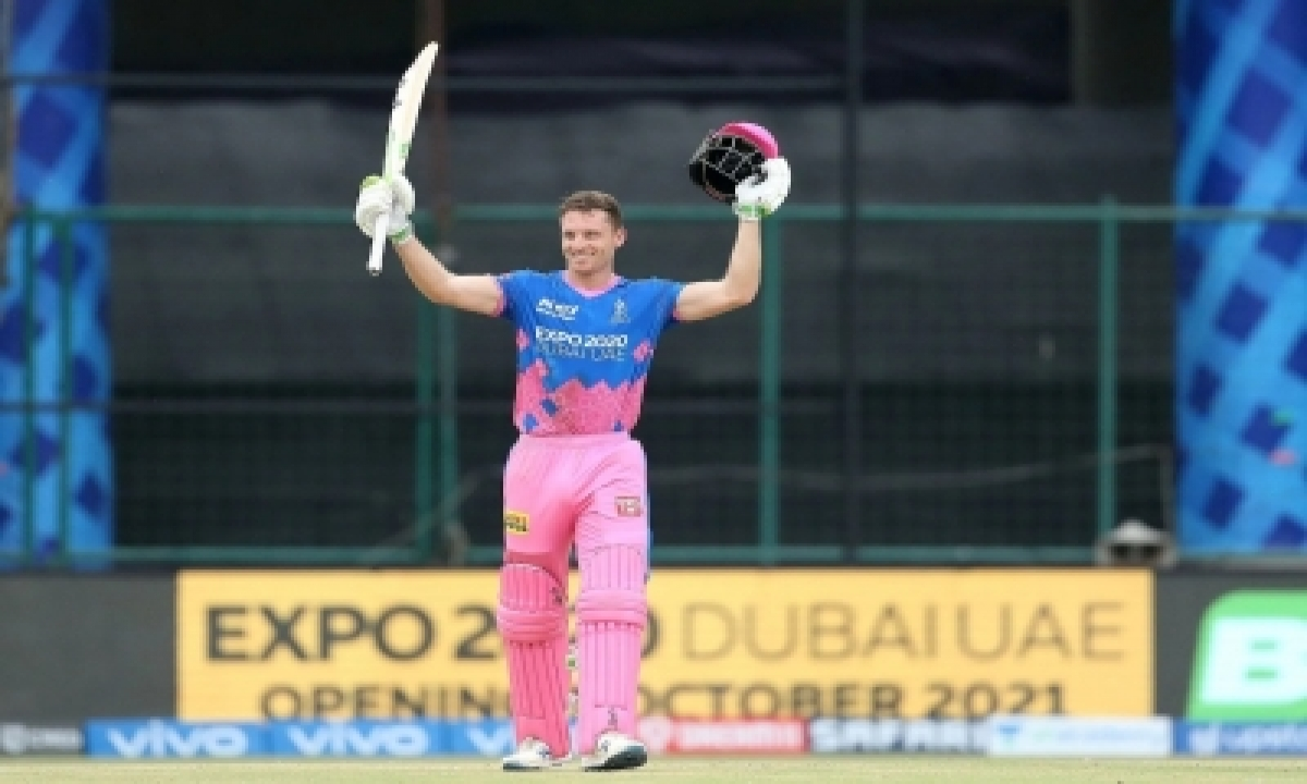Buttler's Maiden T20 Ton Leads Rr To 55-run Win Over Srh (lead)-TeluguStop.com