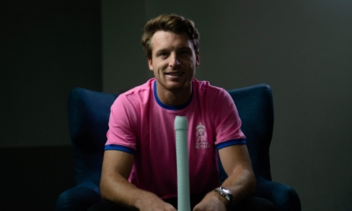 Buttler's Maiden T20 Ton Takes Rr To 220/3-TeluguStop.com