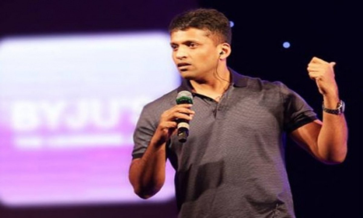 Byju's Raises $455 Mn Led By Baron Funds As Part Of $1b Round-TeluguStop.com
