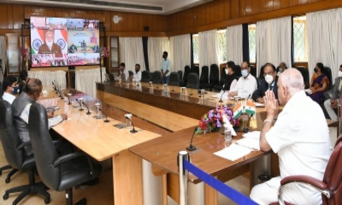 Call On Extending Lockdown Post Pm's Address: Yediyurappa-TeluguStop.com