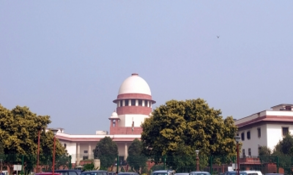 Can't Detain Person On Possible Apprehension Of Breach Of Law, Order: Sc-TeluguStop.com