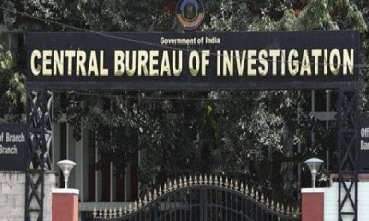 TeluguStop.com - Cbi Suspends Its Own Inspector, Steno Named In Corruption Case