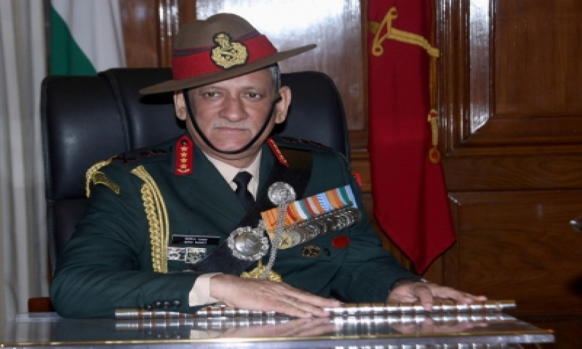 China Can Launch Cyber Attacks, India Getting Ready For It: Gen Bipin Rawat-TeluguStop.com